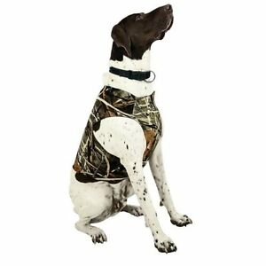 """Team RealTree Dog All Weather Neoprene Chest Protector XL 19"""" Neck 31"""" Chest NEW"""