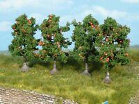 Heki 1961 - Apfelbäume 7cm 5x - Spur N - NEU