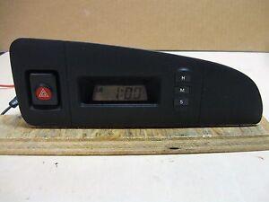 1990-91 HYUNDAI S COUPE LS DASH  DIGITAL CLOCK