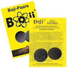 Boji-Paar, Boji lebende Steine, ca. 25-28mm inkl. Original-Zertifikat + Booklet