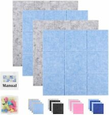 """SEG Direct 11.8"""" x 11.8"""" Large Square Felt Pin Board for Wall   Memo Board"""