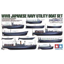 Tamiya 78026 WWII Japanese Navy Utility Boat Set 1/350
