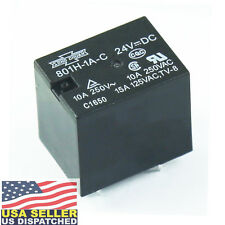 Song Chuan  ( 801H-1A-C-24VDC)  General Purpose Relays 1FormA SPST 24V