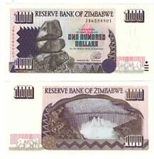 Zimbabwe $100 Dollars (1995) P-9 Unc Banknote