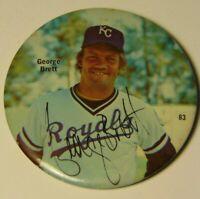 Old Vintage 1978 GEORGE BRETT KANSAS CITY ROYALS MLB MAJOR LEAGUE BASEBALL PIN