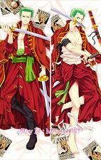 One Piece Dakimakura Roronoa Zoro Anime Hugging Body Pillow Case Cover Custom