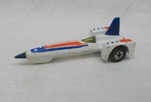 Vintage Hot Wheels Rocket Jet Land Speed Racer Car - Made In Hong Kong