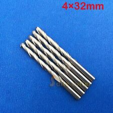 5pc Ball Nose Carbide End mill Double flute CNC Router Cutting Tool Bit 4mm 32mm