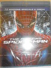THE AMAZING SPIDER-MAN EDIZIONE DUE DISCHI  FILM IN BLU-RAY NUOVO DA NEGOZIO!!!