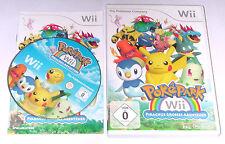 "Nintendo WII Gioco ""POKEPARK PIKACHUS grande avventura Pokemon"" COMPLETO"