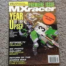 MX RACER 1997 PREMIER RARE ISSUE MOTOCROSS ACTION JEFF EMIG KX250 VINTAGE VMX KX
