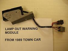 80 83 84 85 86 87 88 89 Lincoln Town Car LAMP OUT WARNING MODULE E0VB-10K910-AC