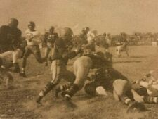 RPPC - Vintage Football Game Action Photo