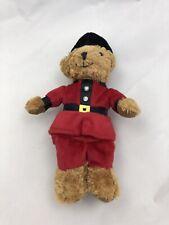 Harrods Knightsbridge London Buckingham Palace Guard Bear 12� Plush England