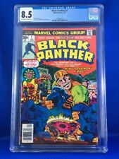 Black Panther #1 CGC 8.5 (Jan 1977, Marvel)