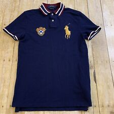 New listing Polo Ralph Lauren Custom Fit Big Pony Crest Rugby Polo Golf Shirt Small