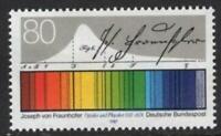 West-Germany 1987 Joseph von Fraunhofer # 1501 MNH