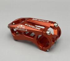 Aluminum MTB XC Road Bike stems -17° Bicycle Bar 25.4*60mm Flat short Stem Red