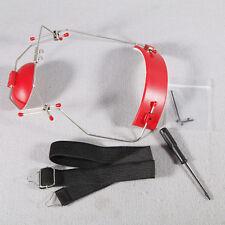Dental Orthodontic Adjustable Reverse-Pull Headgear Universal Instrument Red