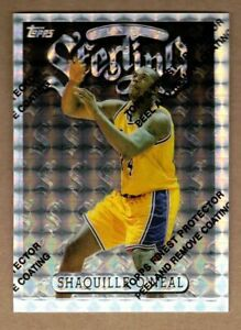 1996-97 FINEST REFRACTORS #289 SHAQUILLE O'NEAL S W/COATING