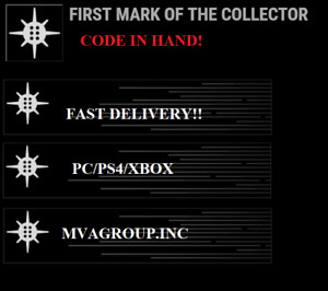 Destiny 2 First Mark of the Collector emblem - FAST DELIVERY!  (PC/PS4/XBOX)