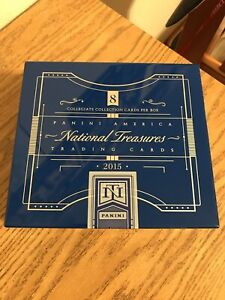 2015 National Treasures Collegiate Multi-Sport UNSEALED Hobby Box