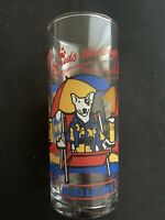 Vintage 1987 Bud Light Spuds Mackenzie Party Animal Beer Glass Budweiser