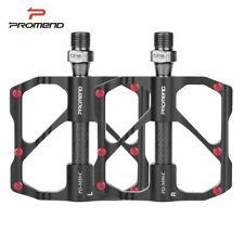 Anti-slip Ultralight Mountain Bike Pedals Carbon Fiber 3 Bearings Bicycle Pedal