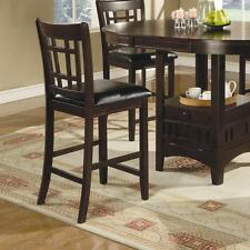 Lavon Espresso Finish Counter Height Dining Chair By Coaster 102889 - Set of 2