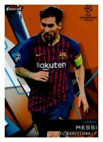 2018-19 Topps Finest UEFA Soccer Parallel Refractor Singles (You Pick)