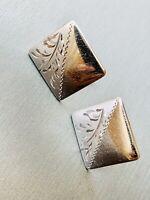 Vintage Cufflinks Sterling Silver no scrap