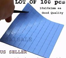 100  Thermal Conductive silicone Compound Pad for heatsink GPU RAM Good Quality