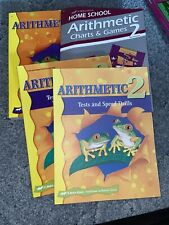 Abeka Math 2nd Grade Curriculum Kit 4 Books  Arithmetic New