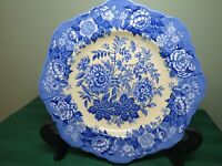 """Spode Blue Room Jasmine Plate Yellow Square 9"""" Collection Made England HQ3"""
