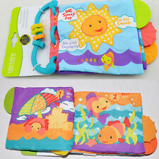 NEW Baby Cloth Books Intelligence Development Learn Pictures Cognize Soft Book