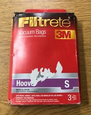 Filtrete 3M Hoover Vacuum Bags S (One Box Containing of 3 Bags)