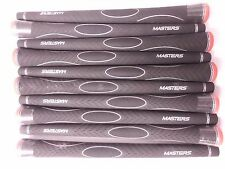 NEW 10 BLACK/red MASTERS GRIPS, A CHEAP WAY OF REVAMPING YOUR CLUBS