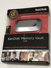 SanDisk Memory Vault 8GB - NEW and UNOPENED, NIB