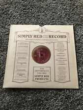 """SIMPLY RED - IF YOU DON'T KNOW ME BY NOW - 10"""" SINGLE - EXCELLENT CONDITION."""