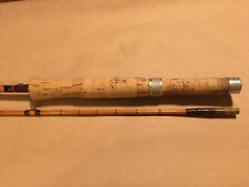 J.S Sharpe Of Aberdeen Bamboo Fly Rod 8 1/2' 2 Piece The Feather Weight.