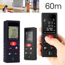 60m Mini Handheld Auto Digital Distance Meter Range Finder Laser Measure Tool
