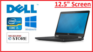 """Refurbished Dell E7270 12.5"""" Core i7 6600U 8GB 256GB SSD Used Laptop PC 10 Home"""