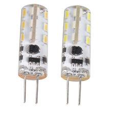 Lot of 12  - G4 / MR11 / MR16 1.5W AC / DC 12V  White Led bulbs for Malibu