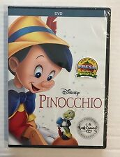 DISNEY PINOCCHIO DVD THE SIGNATURE COLLECTION 2017 BRAND NEW