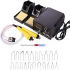 110V 60W Pyrography Machine Burning Painting Art Tools Electric Soldering Iron