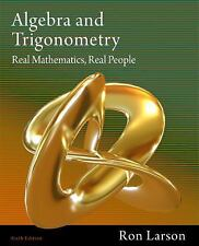 Brand New: Algebra and Trigonometry: Real Mathematics, Real People