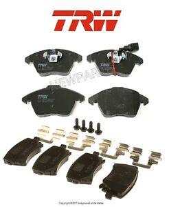 For Audi A3 Quattro Volkswagen Jetta Set of Front & Rear Brake Pads OEM TRW