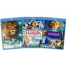 Chronicles Of Narnia: Complete Film Series Movies 1 2 3 Box / BluRay Set(s) NEW!