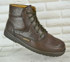MEPHISTO Originals Mens Brown Leather Outdoor Ankle Boots Size 8.5 UK 43 EU