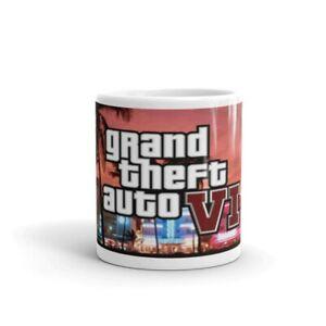 GTA 6 grand theft auto game gift 11oz mug cup